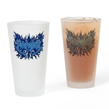 Firefighter's Flame Drinking Glass