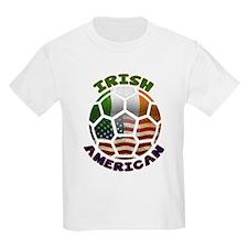 Irish American Soccer Fan T-Shirt