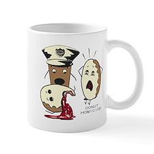 Donut Homicide Mug