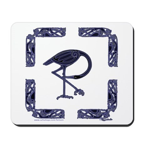Celtic Crane Mousepad
