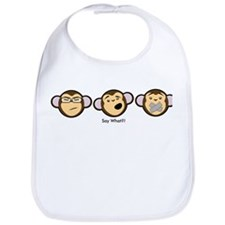 Evil Monkeys Bib