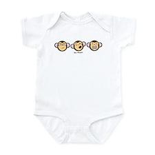 Evil Monkeys Infant Bodysuit
