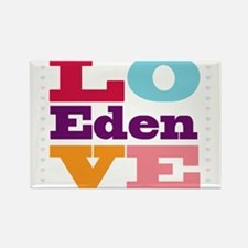 I Love Eden Rectangle Magnet