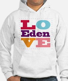 I Love Eden Jumper Hoody