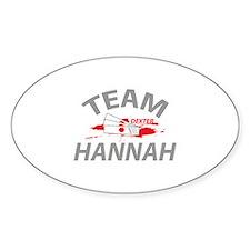Team Hannah Decal