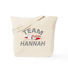 Team Hannah Tote Bag