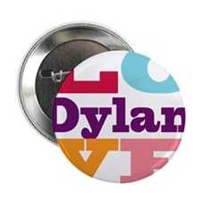 """I Love Dylan 2.25"""" Button"""