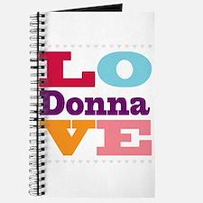 I Love Donna Journal