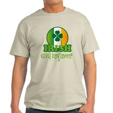 Irish Civil Engineer St Patricks T-Shirt