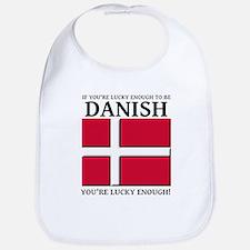 Lucky Enough To Be Danish Dansk Shirt Bib