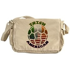 Irish American Soccer Fan Messenger Bag