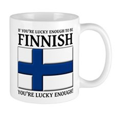 Lucky Enough To Be Finnish Suomi Shirt Mug
