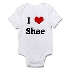 I Love Shae Infant Bodysuit
