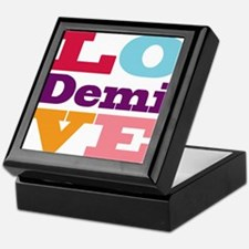I Love Demi Keepsake Box