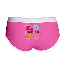 I Love Delilah Women's Boy Brief