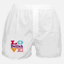 I Love Delilah Boxer Shorts