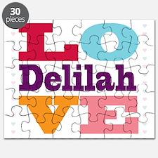 I Love Delilah Puzzle