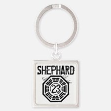 Shephard - 23 - LOST Square Keychain