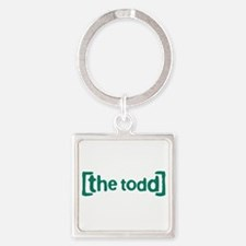 The Todd Square Keychain