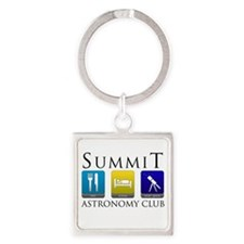 Summit Astronomy Club - Starg Square Keychain