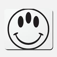 Third Eye Smiley Mousepad