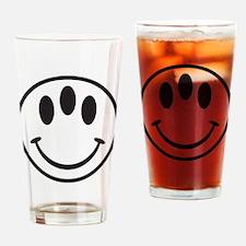 Third Eye Smiley Drinking Glass