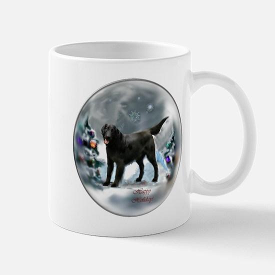 Flat-Coated Retriever Christmas Mug
