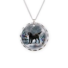 Flat-Coated Retriever Necklace