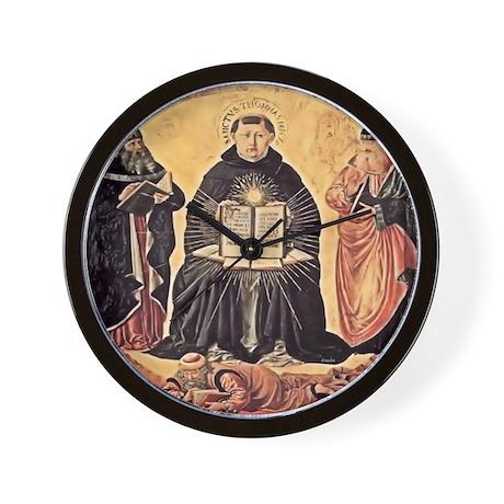 Saint Thomas Aquinas 1648 Wall Clock