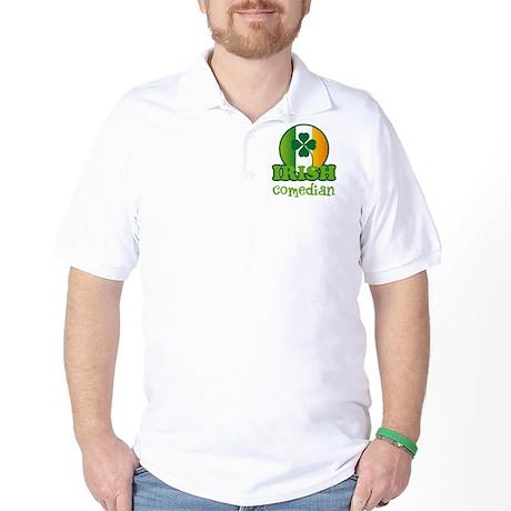 Irish Comedian St Patricks Golf Shirt