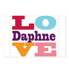 I Love Daphne Postcards (Package of 8)