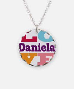 I Love Daniela Necklace