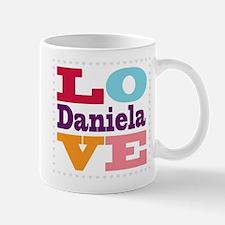 I Love Daniela Mug