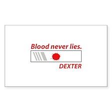 Blood never lies. Decal