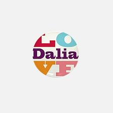 I Love Dalia Mini Button
