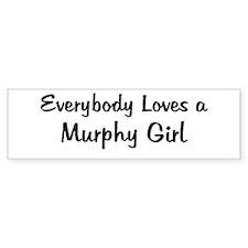Murphy Girl Bumper Bumper Sticker