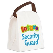 Future Security Guard Canvas Lunch Bag