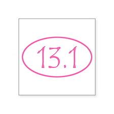 Pink Half Marathon 13.1 Mile Sticker