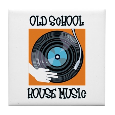 Old School House Music Tile Coaster By Ilovenychouse