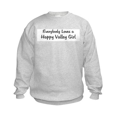 Happy Valley Girl Kids Sweatshirt