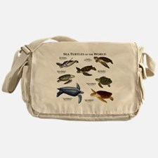Sea Turtles of the World Messenger Bag