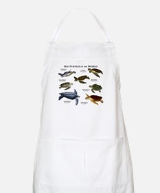 Sea Turtles of the World Apron