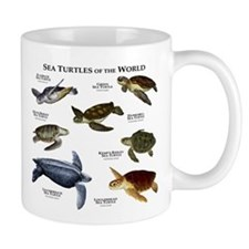 Sea Turtles of the World Small Mug