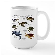 Sea Turtles of the World Mug