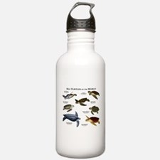 Sea Turtles of the World Water Bottle