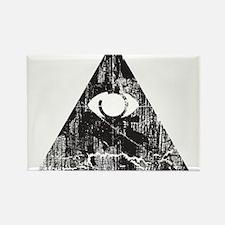 Urban Illuminati Rectangle Magnet