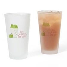 Them Apples Drinking Glass