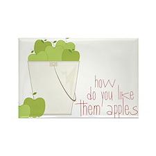 Them Apples Rectangle Magnet