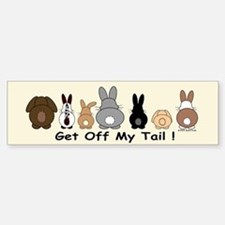 Get Off My Tail Stickers