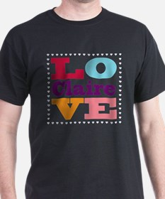 I Love Claire T-Shirt